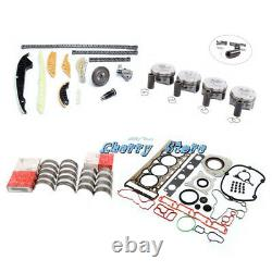 Engine Rebuild Kit with Gaskets Pistons Fit For VW CC AUDI A4 A5 A6 2.0T CCZ CAW