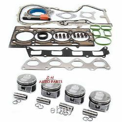 Engine Rebuild Kit with Piston&Ring Fit For VW Golf Jetta SEAT AUDI A1 SKODA 1.4 T
