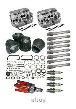 Top end rebuild kit 1600cc Air cooled VW up to 1979 (Unleaded)