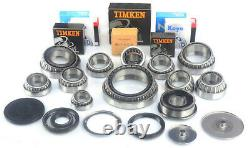 Vw T5 Transporter 2.5 Late 6 Speed 0a5 Gearbox Parts Bearings Seals Rebuild Kit